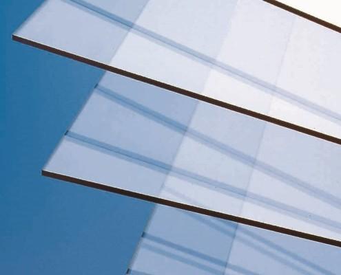 PVC Platten transparent
